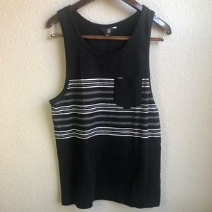Volcom Forzee tank top black pocket tank shirt